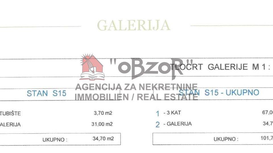 Apartment, 101 m2, For Sale, Zadar - Vidikovac