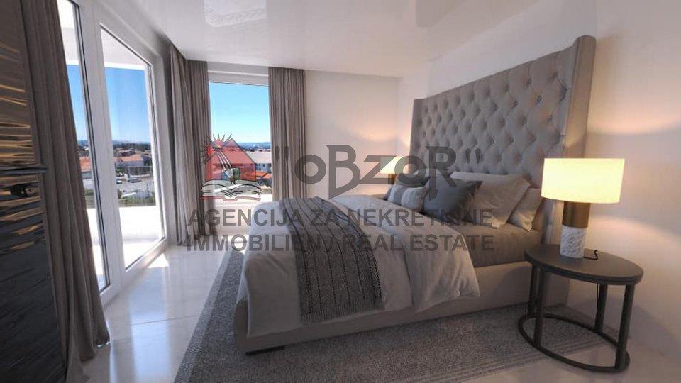 Zadar-VIDIKOVAC, stan s krovnom terasom - NOVOGRADNJA