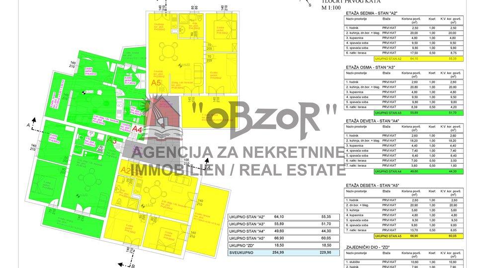 Apartma, 66 m2, Prodaja, Pašman - Ždrelac