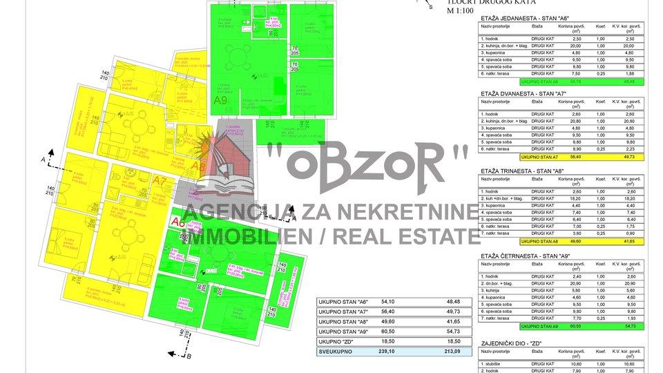 Holiday Apartment, 49 m2, For Sale, Pašman - Ždrelac