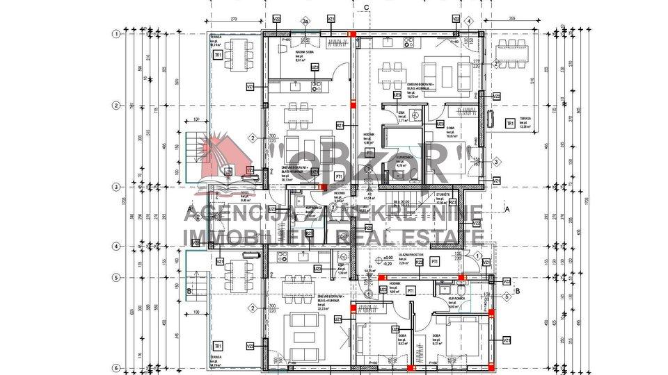 Appartamento, 76 m2, Vendita, Novalja