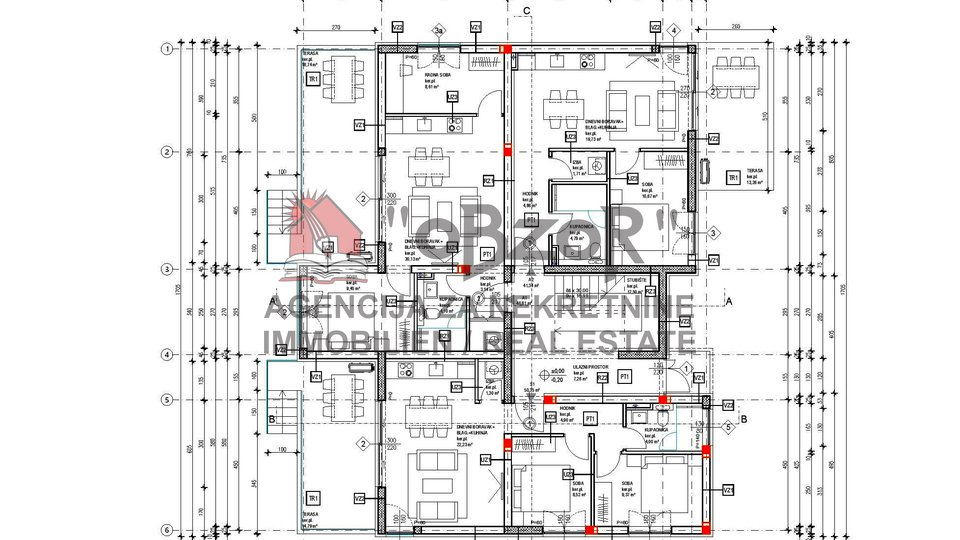 Holiday Apartment, 56 m2, For Sale, Novalja