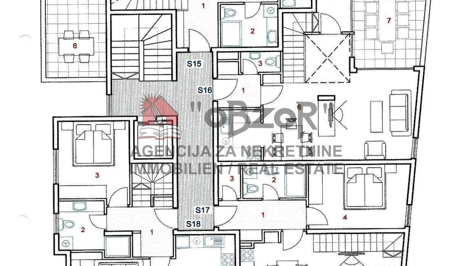 Wohnung, 105 m2, Verkauf, Zadar - Vidikovac