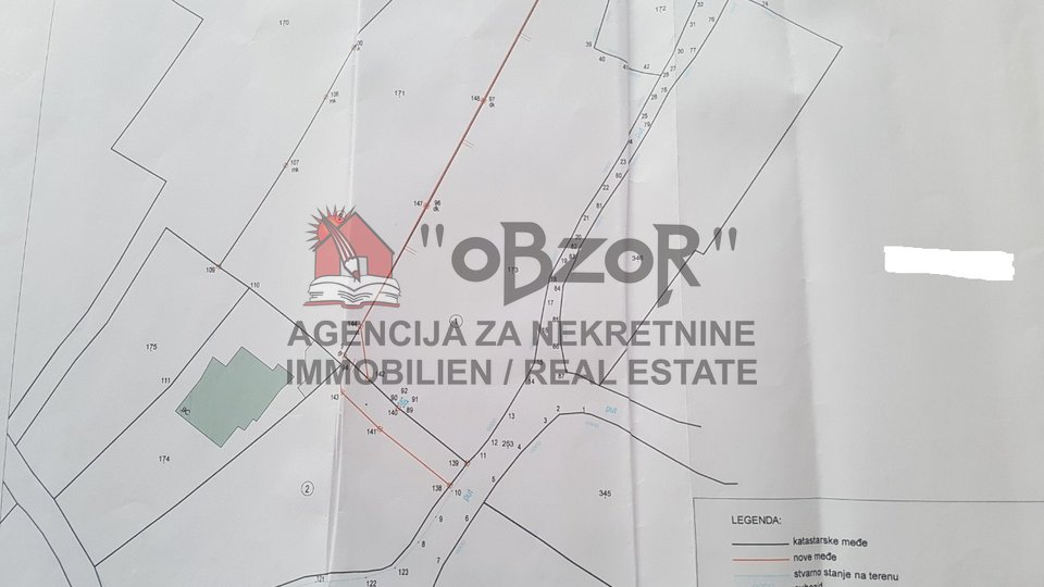 Land, 1606 m2, For Sale, Pašman - Dobropoljana