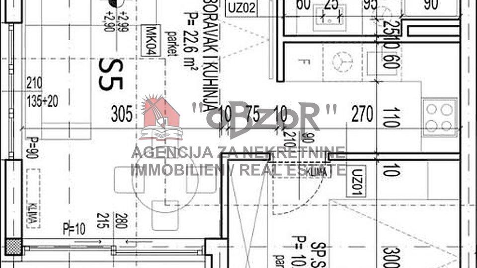 Apartment, 48 m2, For Sale, Zadar - Plovanija