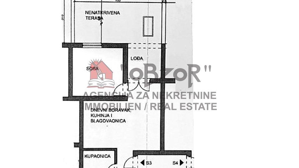 Holiday Apartment, 42 m2, For Sale, Povljana