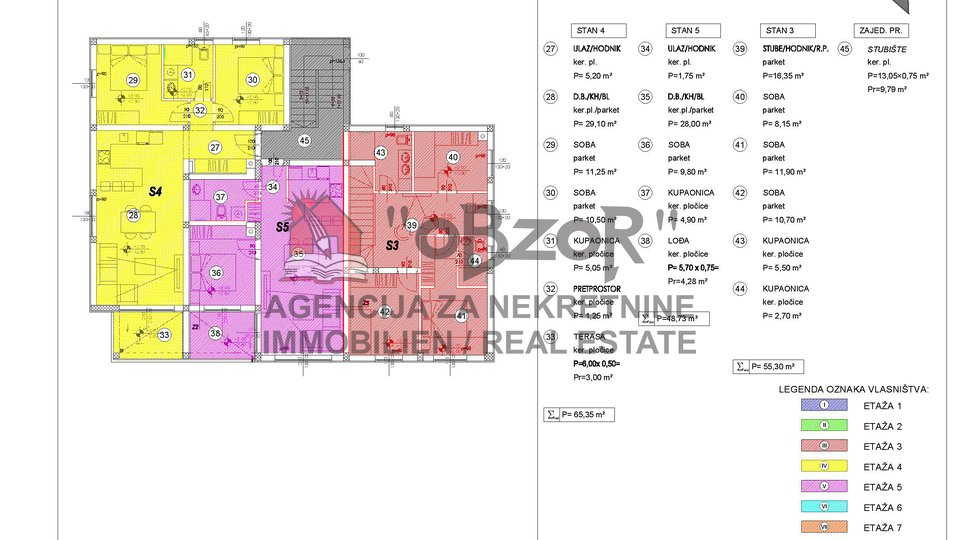 Apartment, 61 m2, For Sale, Zadar - Skroče