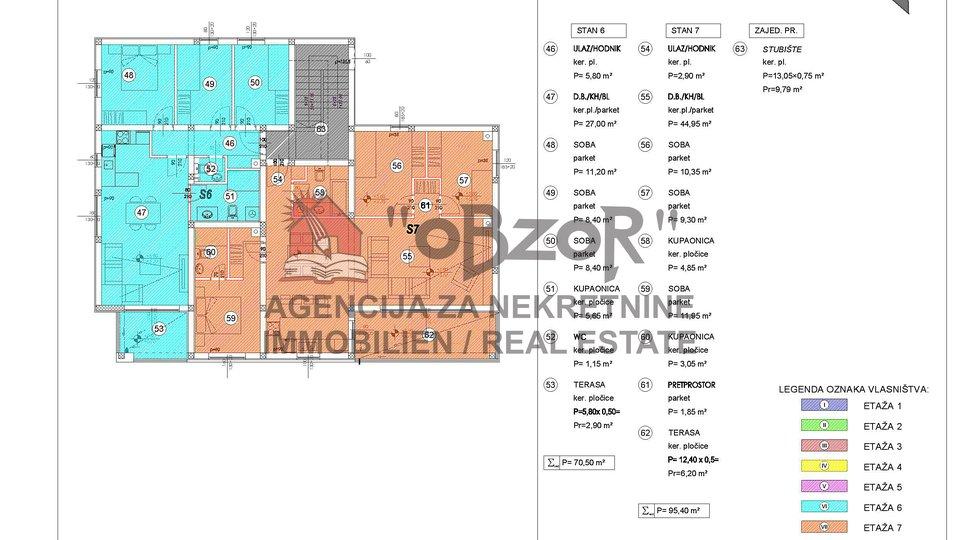 Wohnung, 61 m2, Verkauf, Zadar - Skroče