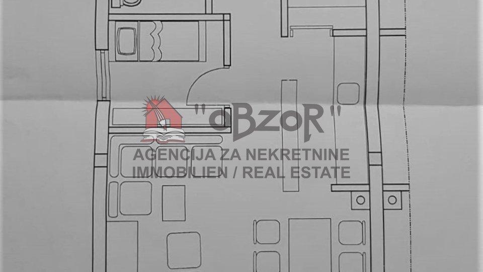 Pag- POVLJANA, dvosoban namješten stan 58,18m2