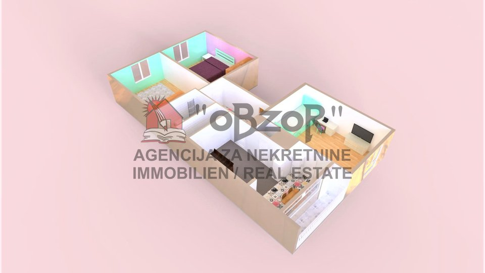 Apartment, 73 m2, For Sale, Zadar - Voštarnica