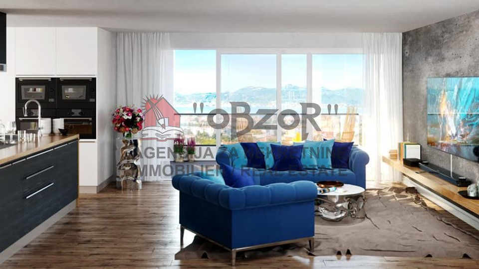 Apartment, 46 m2, For Sale, Zadar - Vidikovac
