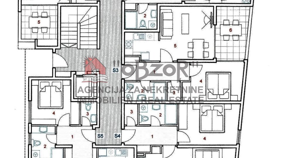 Apartment, 75 m2, For Sale, Zadar - Vidikovac
